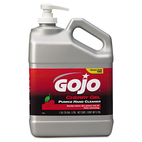 GOJO Heavy Duty Cherry Gel Pumice Hand Cleaner