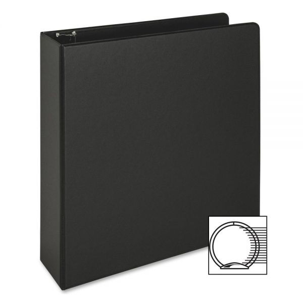 "Business Source Vinyl 2"" 3-Ring Binder"