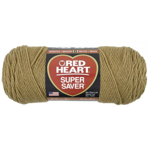 Red Heart Super Saver Yarn - Warm Brown