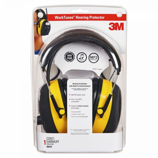 Tekk Protection Digital WorkTunes Earmuff