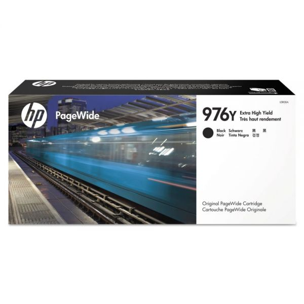 HP 976Y Black Ink Cartridge (L0R08A)