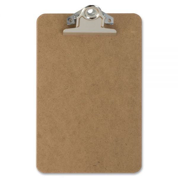 "OIC 6"" x 9"" Memo Wood Clipboard"