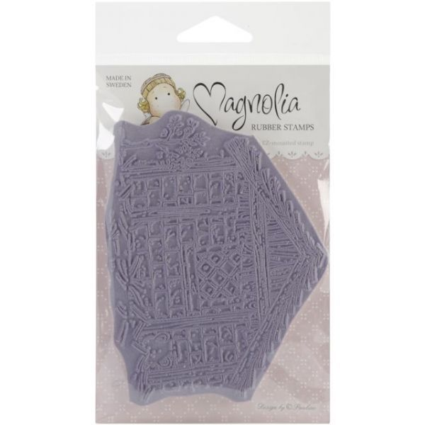 "Nativity Cling Stamp 4""X6.5"" Package"