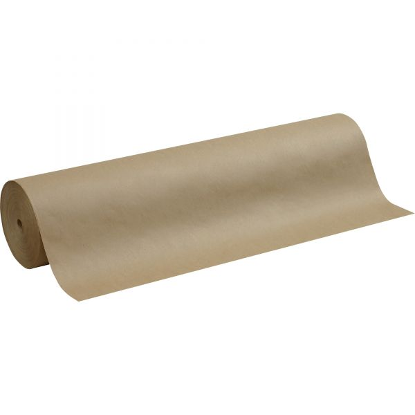 """Pacon Kraft Paper Roll, 50 lbs., 36"""" x 1000 ft, Natural"""
