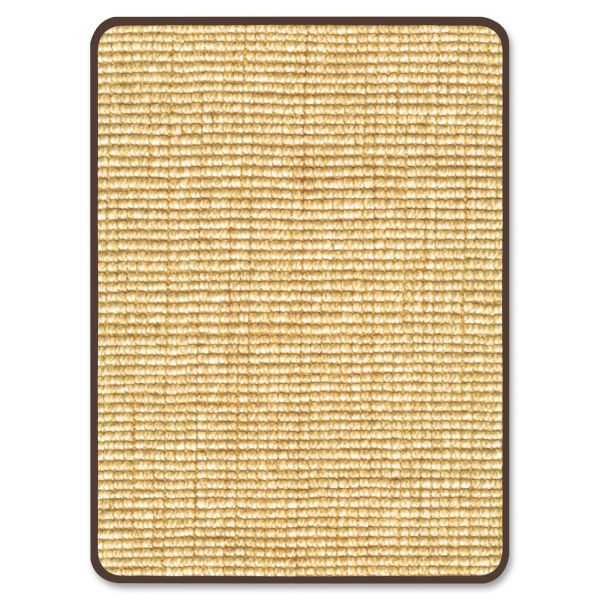 Deflecto Harbour Pointe Chunky Wool Jute Decorative Chairmat for Hard Floors