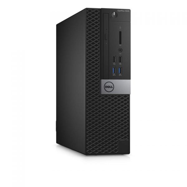 Dell OptiPlex 5040 Desktop Computer - Intel Core i5 i5-6500 - Small Form Factor - Black