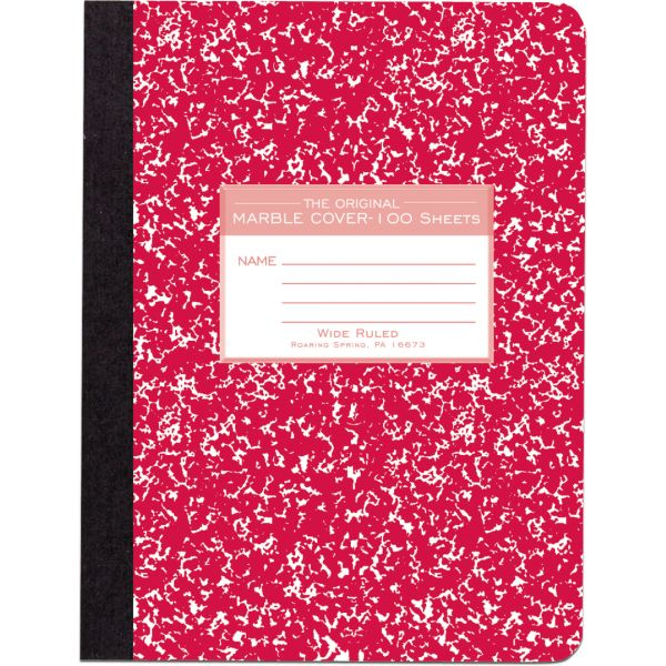 Roaring Spring Wide-ruled Composition Book