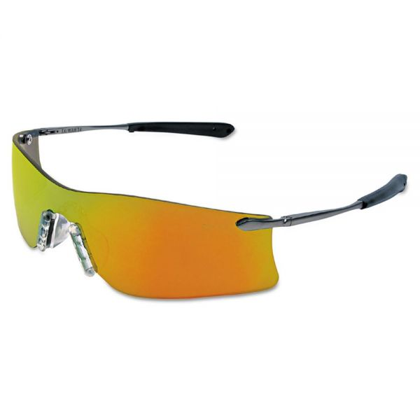 MCR Safety Rubicon Protective Eyewear, Fire Lens