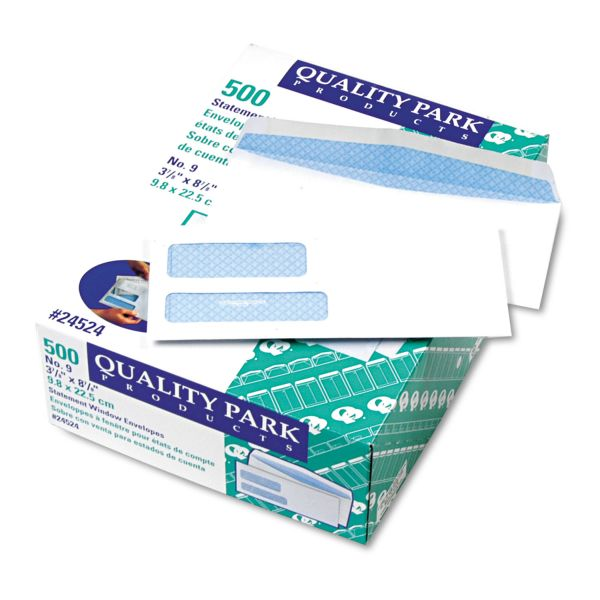 Quality Park 2 Window Envelopes