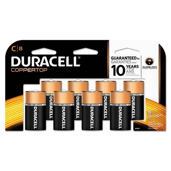 Duracell Coppertop C Batteries