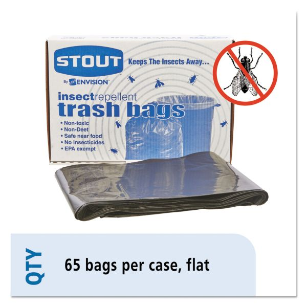 Stout Insect-Repellent 55 Gallon Trash Bags