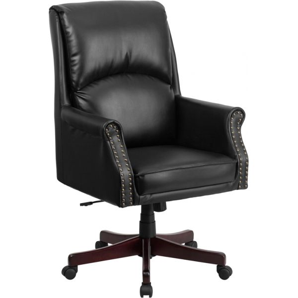Flash Furniture Pillow Back Executive Swivel Office Chair