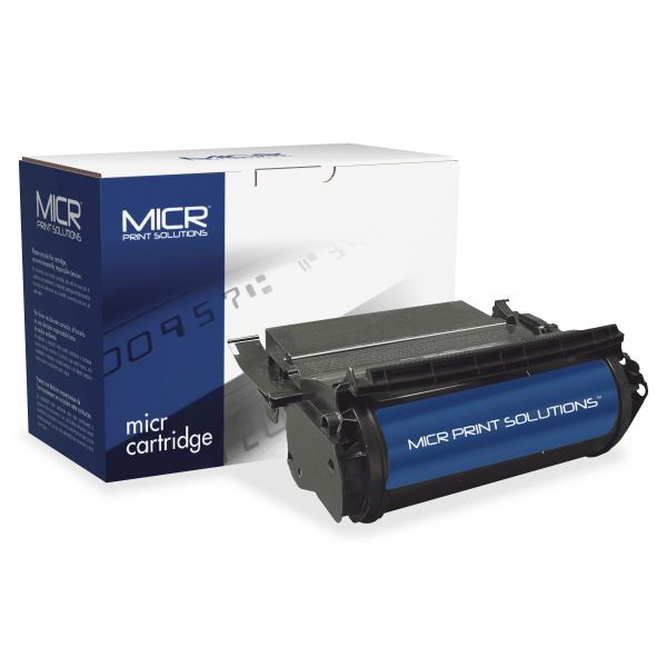 MICR Print Solutions Compatible with T610 High-Yield MICR Toner, 16,000 Page-Yield, Black