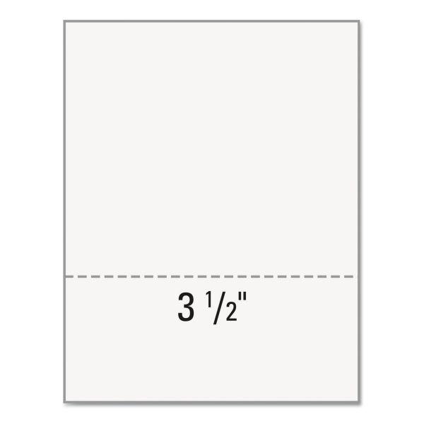 "Laser3 Micro Perf (3-1/2"") Copy/Laser Paper"