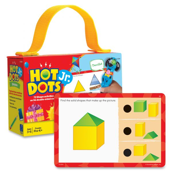 Hot Dots Jr. Card Set Shapes