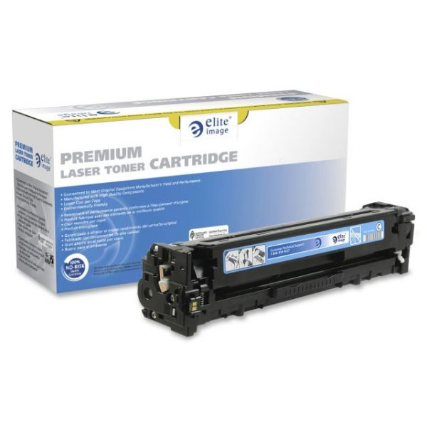 Elite Image Remanufactured Canon 131C Toner Cartridge