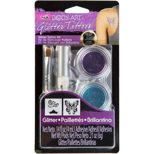 Tulip Body Art Glitter Tattoo Kit