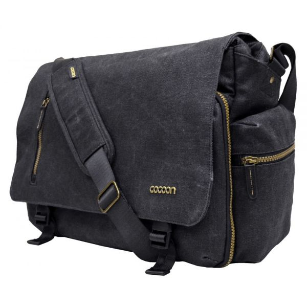 "Cocoon Urban Adventure Carrying Case (Messenger) for 16"", Notebook - Black"