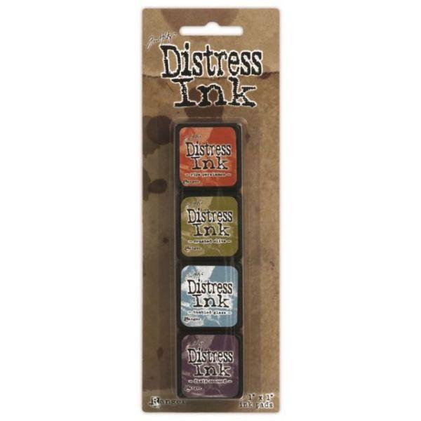 Ranger Distress Mini Ink Kits - Kit 8