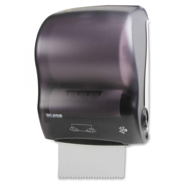 San Jamar Simplicity Hands-Free Mechanical Paper Towel Dispenser
