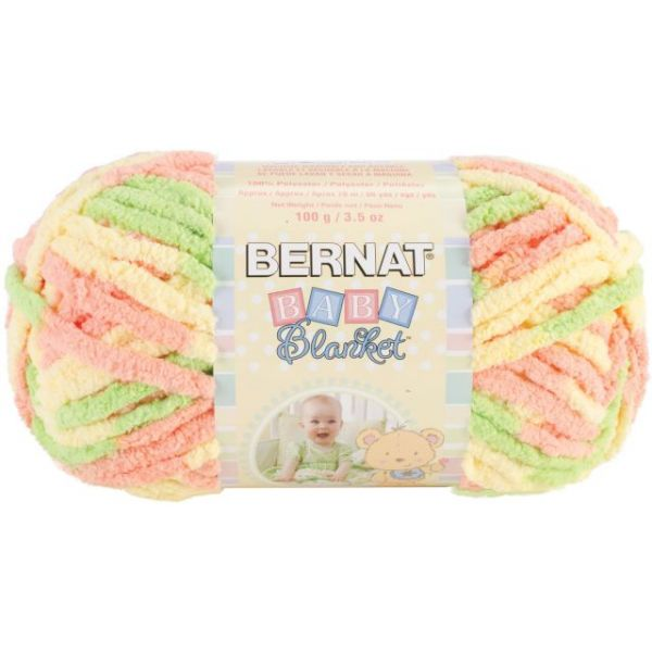 Bernat Baby Blanket Yarn - Little Sunshine