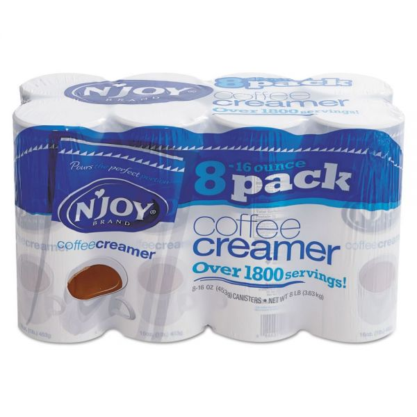 N'Joy Powdered Coffee Creamer Canisters