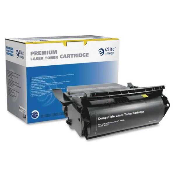 Elite Image Remanufactured Lexmark 12A6865 High Yield Toner Cartridge
