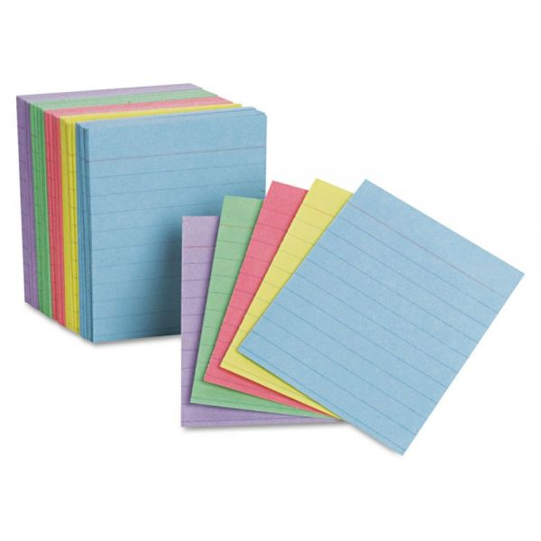 "Oxford 3"" x 2.5"" Ruled Mini Index Cards"