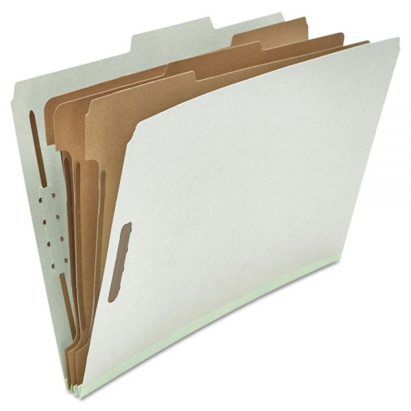 Universal 3-Divider Pressboard Classification Folders