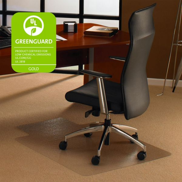 Cleartex Wide Lip Medium Pile Chair Mat