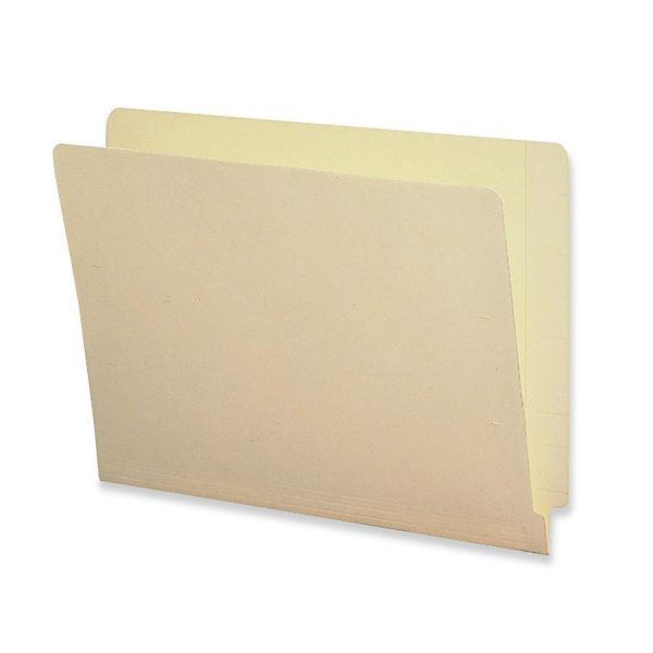 Sparco Shelf-Master Letter Size End Tab File Folders