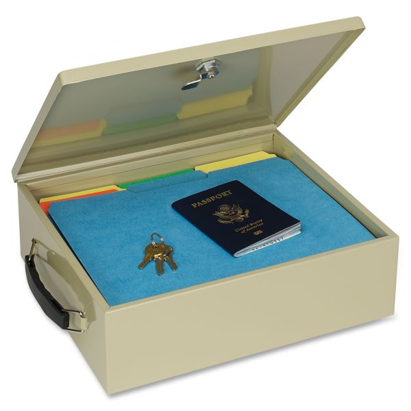 SteelMaster Jumbo Cash Box w/Lock