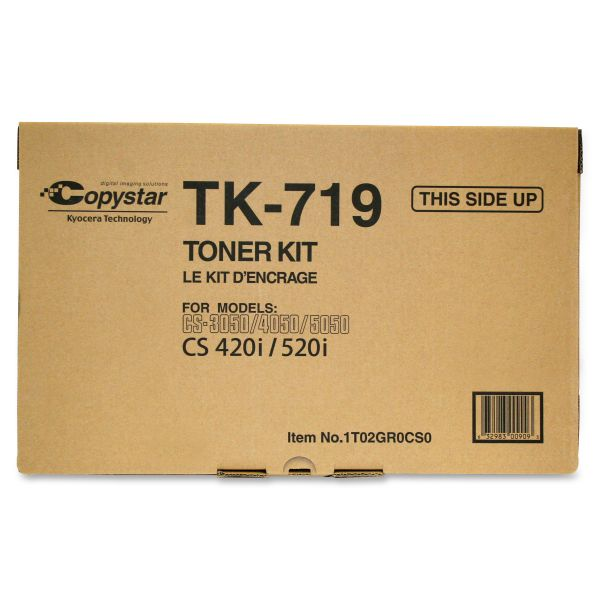 Kyocera TK719 Black Toner Cartridge