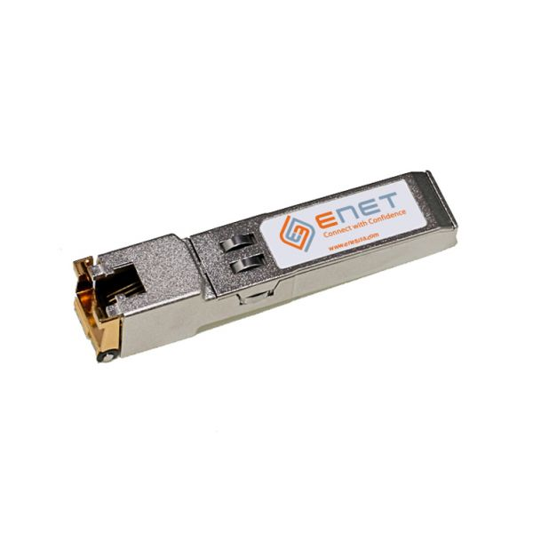 eNet 10/100/1000BASE-T Copper SFP RJ45 100m MSA Standard