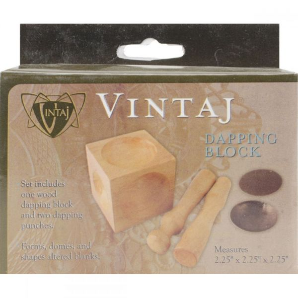 Vintaj Wood Dappling Block