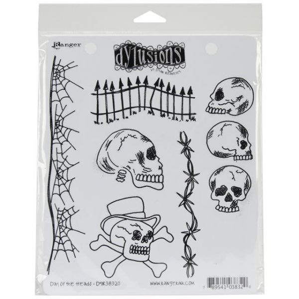 "Dyan Reaveley's Dylusions Cling Stamp Collections 8.5""X7"""