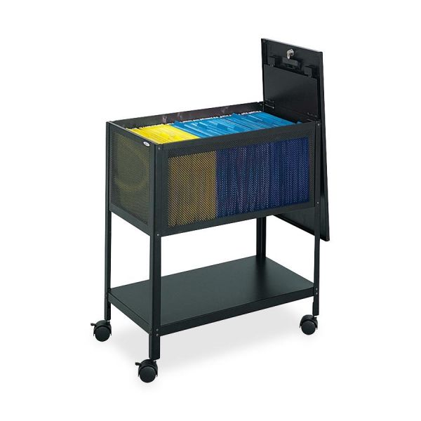Safco Steel Mesh Tub File Cart