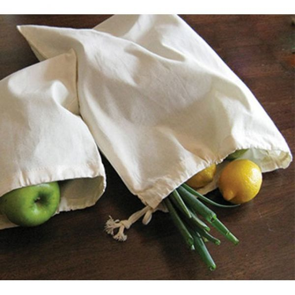 "Reusable Canvas Produce Bag 13""X17"""