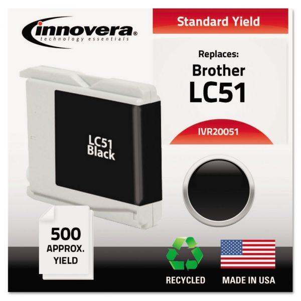 Innovera Remanufactured Brother LC51 Ink Cartridge