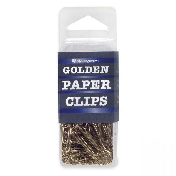 Baumgartens #1 Gold Paper Clips