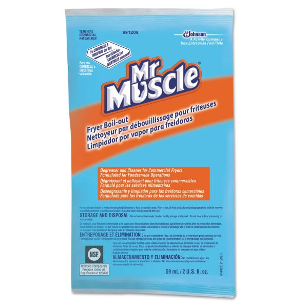 Mr. Muscle Fryer Boil-Out Surface Cleaner