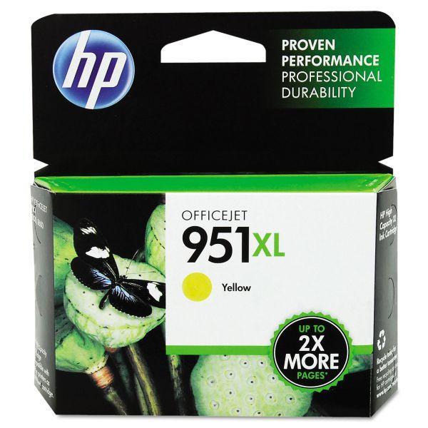 HP 951XL High Yield Yellow Ink Cartridge (CN048AN)