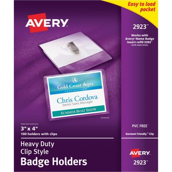 Avery Photo ID Badge Holders