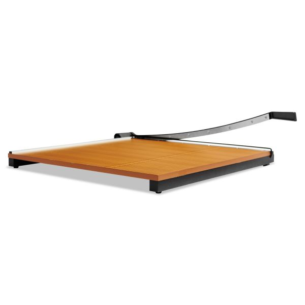 "X-ACTO Wood Base Guillotine 30"" Paper Cutter"