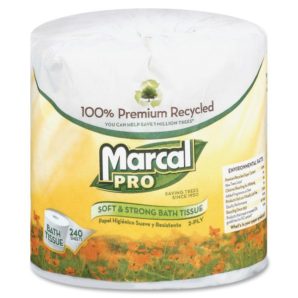 Marcal PRO 100% Premium Recycled 2 Ply Toilet Paper