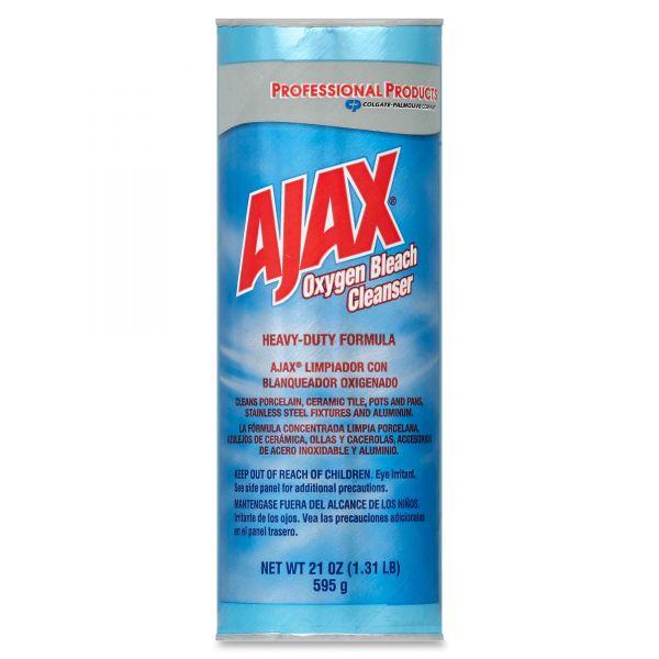 Ajax Oxygen Bleach Powder Cleanser, 21oz Can, 24/Carton