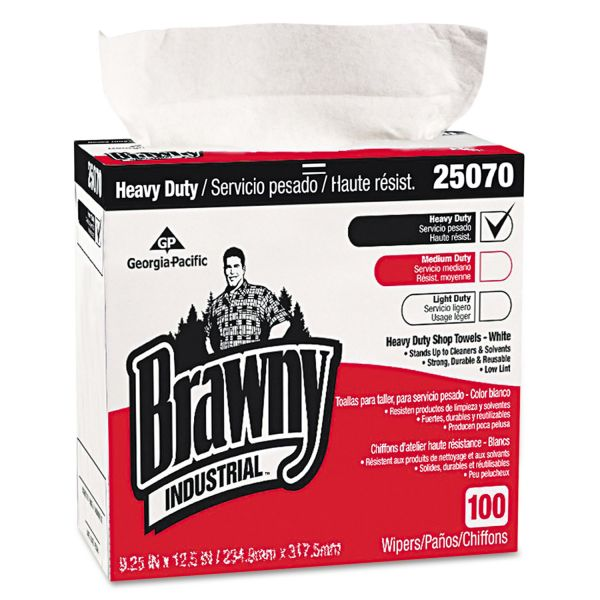 Brawny Industrial Heavy Duty Wipes