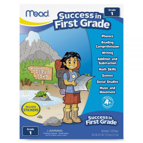 Mead First Grade Comprehensive Workbook Education Printed Book for Science/Mathematics/Social Studies