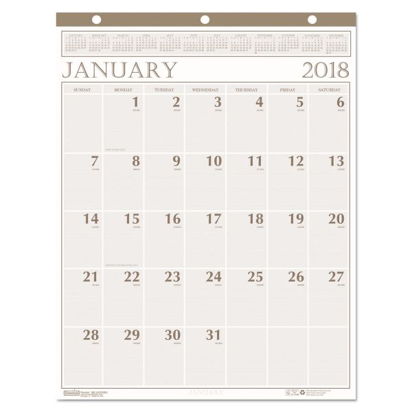 House of Doolittle Classic Monthly Wall Calendar