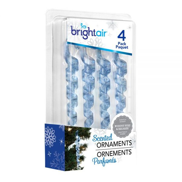 BRIGHT Air Scented Ornaments Icicle Air Fresheners
